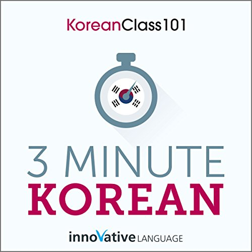 3-Minute Korean  By  cover art