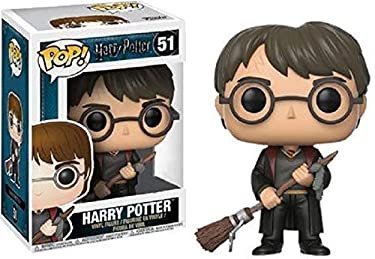 Funko Pop Harry Potter with Firebolt Collectible Figure, Multicolor