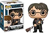 Figura Pop Harry Potter Harry with Firebolt & Feather Exclusive...