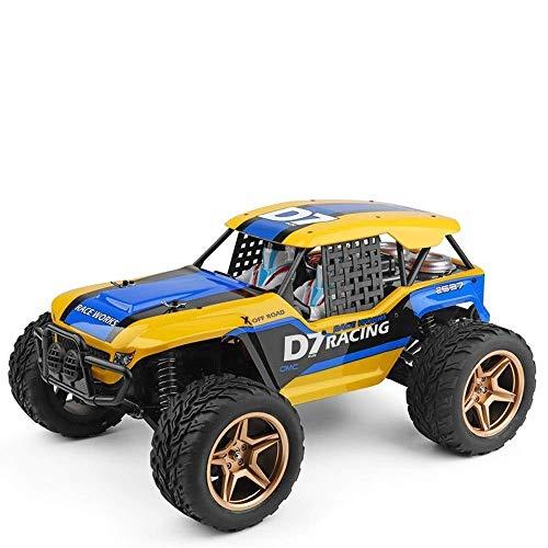 1/12 eléctrico Desert Mountain todoterreno con el coche de RC, 35 kmh de alta velocidad 4WD impermeable rc camiones, neumáticos grandes de Escalada impermeable 2.4G RC Buggy, del cumpleaños del niño d