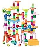 JOYIN 120Pcs Marble Run Toy Set,...
