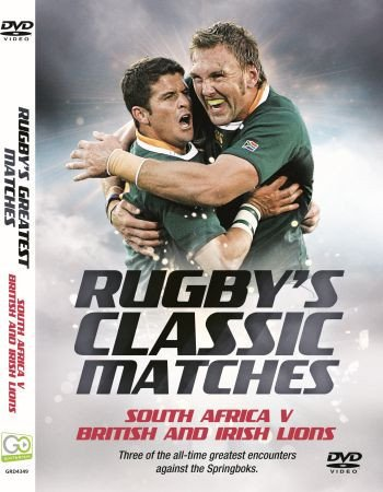 Rugby's Classic Matches: South Africa v British & Irish Lions [DVD]