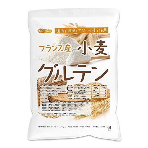 小麦グルテン(フランス産)3kg 活性小麦たん白 遺伝子組み換え不使用 [02] NICHIGA(ニチガ)