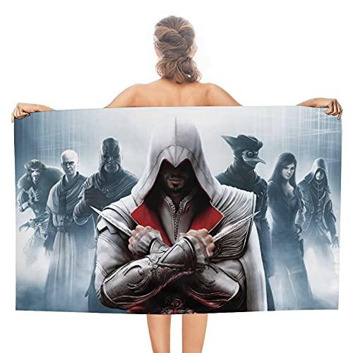 Assassin's Creed Toallas de paño de cocina Toallas de baño ultra suaves y absorbentes, toallas de baño, toallas de hotel, toallas de gimnasio