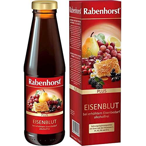 Fruit-Herbal Drink with Iron and Vitamins C, B1, B2, B12 450 Ml - Rabenhorst
