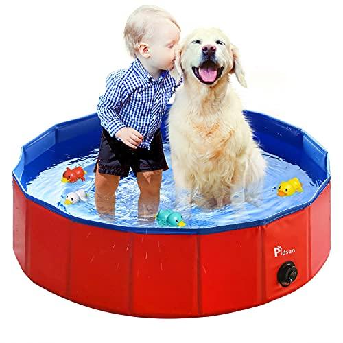 Pidsen Foldable Dog Swimming Pool