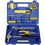 Kit de herramientas con maletín, 17piezas, precisión Home Depot unboxing Juego de herramientas para niños–gran regalo para los hombres, estudiante universitario