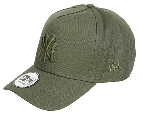 New Era League Essential Adjustable NY Yankees Olive, Size:ONE Size