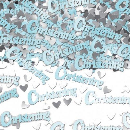 Blue Christening Confetti 14g by Pams