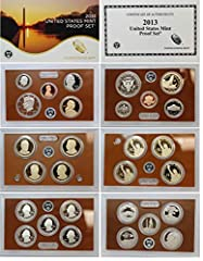 2013-S US Mint Proof Set 14-pc (P15) Includes Original Government Packaging & Certificate of Authenticity
