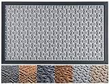 Extra Durable Door Mat Inside/Outdoor - Non-Slip Indoor Door Mat (30 x 18) - Easy Clean Front/Back Door mat - Rubber...