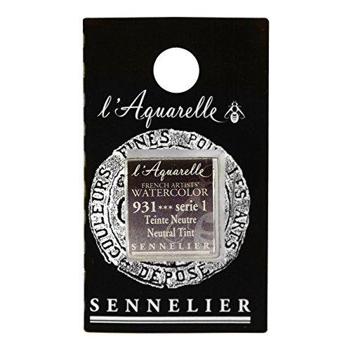 Sennelier French Wc Half Pan Neutral Tint