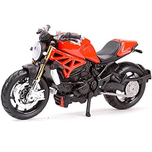 PPQQBB Fábrica Original 1:18 1200 R600 Simulación Aleación Motocicleta Modelo Modelo Boy Absorción de Choque Juguete Colección de Regalo Boutique