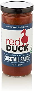 Red Duck Organic Cocktail Sauce - Gluten-Free, All Natural (8.5 oz)