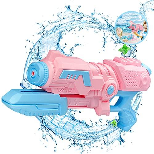 pistola ad acqua grande,pistole ad acqua giocattolo,pistola ad acqua lunga distanza,pistola ad acqua per bambini adulti,pistola ad acqua all\'aperto,pistola ad acqua estivo (rosa chiaro)