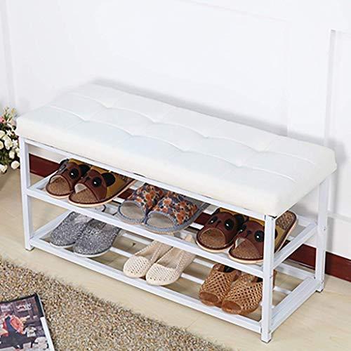 YLCJ schoenenrek voor slaapzaal, multifunctioneel, voor woonkamer, wand, huis, schoenen, kruk, schoenenkast (kleur: A3)