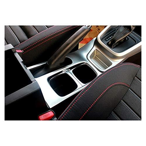 Keep it simple ABS Silver Car Soporte de Taza de Agua Tapa Tortuga Central Control Top Holder Cubierta Ajuste para Suzuki Vitara Escudo 2015-2019 (Color Name : Silver)