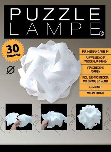 Puzzle Lampe Größe L im Geschenkkarton