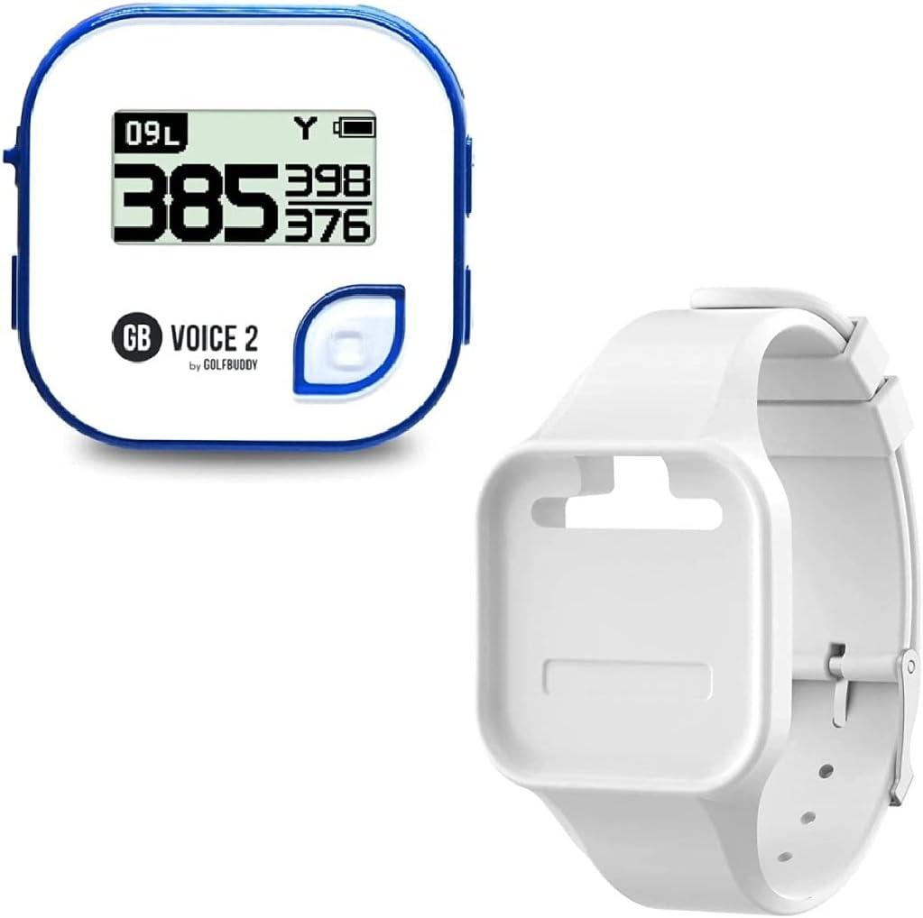 Golf Buddy Voice 2 Talking Branded goods GPS Lastin Long Rangefinder Bundle Quality inspection