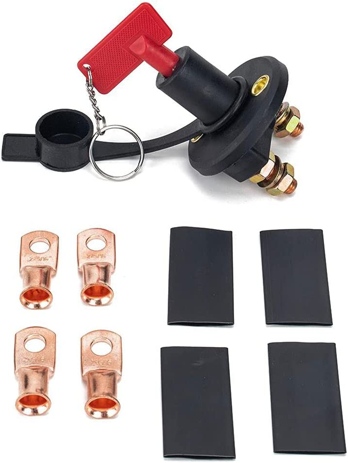 Auto Power National uniform free shipping Ranking TOP18 Kill Switch 200A Isolator Swit Battery Car Disconnect