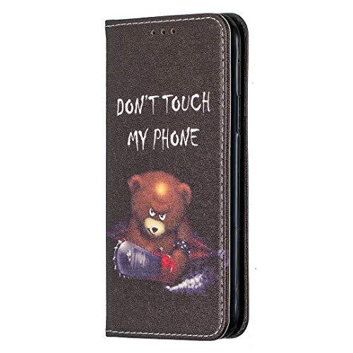 WANYINGLIN Girl Slim Book für Samsung S20,Cartoon Fairy Cover Colorful Stunning Leather Hülle Purse Magnet Flip Kickstand Leder Wallet with Soft Card Slot Holder