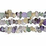 Gemischt Edelstein und Kristall Chip From 3 8mm Perlen zum auffädeln Approx 80cm Strang
