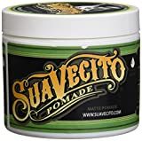Suavecito Shine-Free Matte Pomade for Men, 4 Ounce
