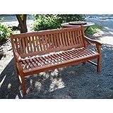 SEDEX Gartenbank New Jersey, 3-Sitzer, Holzbank aus Hartholz Eukalyptus - 3