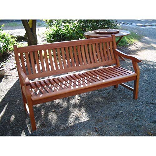 SEDEX Gartenbank New Jersey, 3-Sitzer, Holzbank aus Hartholz Eukalyptus 100% FSC - 3