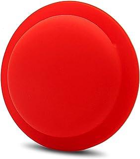 Moniel Protector Cover Tracker Capa de silicone Capa de silicone anti-perda de suporte adesivo para trás Protetor de capa ...