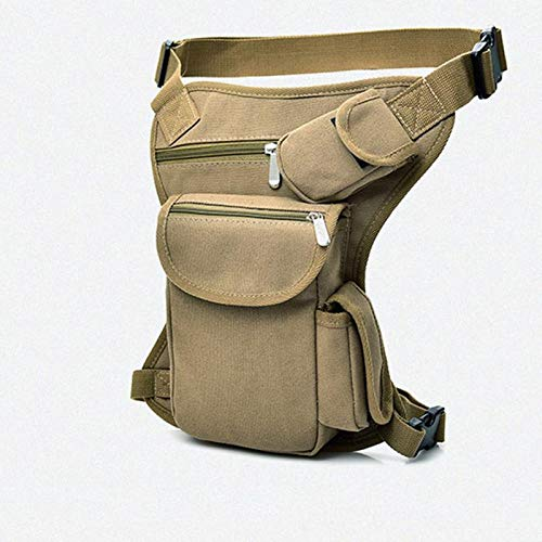 MLAIXN Bolsa Pierna Moto Pernera Moto Riñonera Hombres C lapso Drop Bag Bolsa Bolsa de Cintura Fanny Pack Cinturón Hip Bum Viaje Motor Motor Motores Mensajero Bolsas de Hombro 972 (Color : 4)