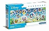 Clementoni- Puzzle 1000 Piezas Panorama Disney Classic (39515.6)