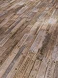 Parador Klick Vinyl Bodenbelag Classic 2050 Boxwood Vintage Braun Stabmix Gebürstete Struktur 2,118m², hochwertige Holzoptik mittel braun/grau 5mm, einfache Verlegung