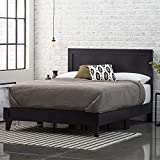 Everlane Home Weston Wood Platform Bed, Twin XL, Black