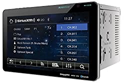 commercial VR-1032XB double DIN audio stream supporting Sirius XM Bluetooth on dashboard DVD / CD / AM / FM car radio… soundstream in dash