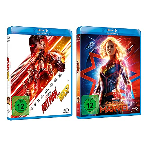 Captain Marvel + Ant-Man and the Wasp Blu-ray Collection