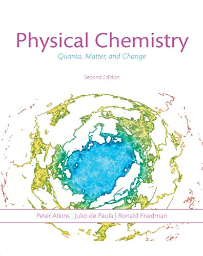 Physical Chemistry: Quanta Matter and Change