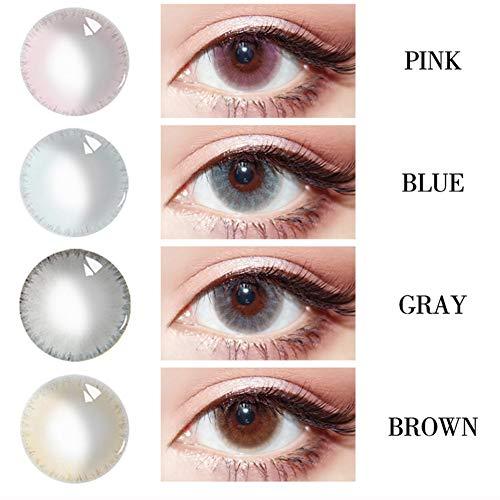 ZFXXN Farbe Kontaktlinsen, Augen Netter Charme Attraktive Mischungen Kosmetik Make-up Lidschatten (6 Colo)