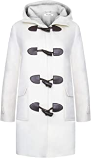 APTRO Women's Winter Wool Trench Coat Long Pea Coat Double Breasted Overcoat
