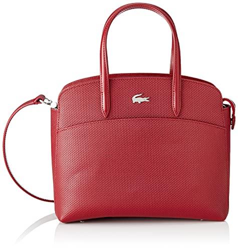 Lacoste Nf3496kl, s pocket Top - Bolso para mujer, talla única, Rojo (granate), Talla única