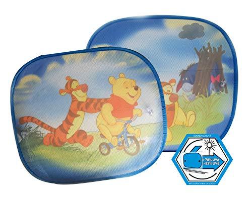 Winnie l'ourson WPSAA080 Pare-Soleil UV pour vitres latérales Bleu Clair