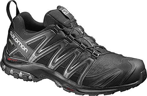 Salomon Herren Trail Running Schuhe, XA PRO 3D GTX, Farbe: schwarz (Black/Black/Magnet) Größe: EU 43 1/3
