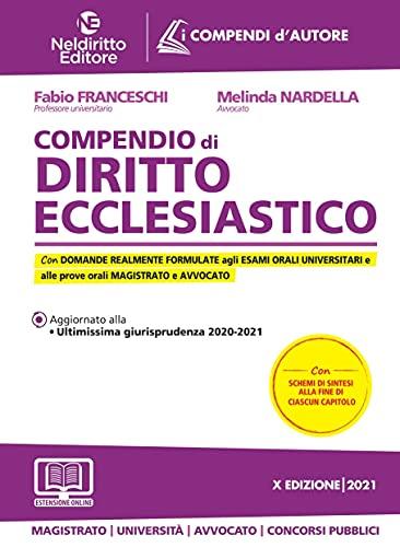 C9 - Compendio Di Diritto Ecclesiastico 2021