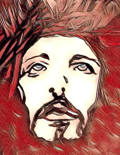 Sketch Book (Premium Jesus Christian and catholic Art Cover vol.1): Sketch book, Notebook, Journal, for Writing, bible studies, Drawing, Sketching, ... With Beautiful Artwork On A Glossy Cover)