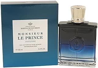 Marina De Bourbon Monsieur Le Prince Intense 3.4 oz Eau De Parfum Spray For Men