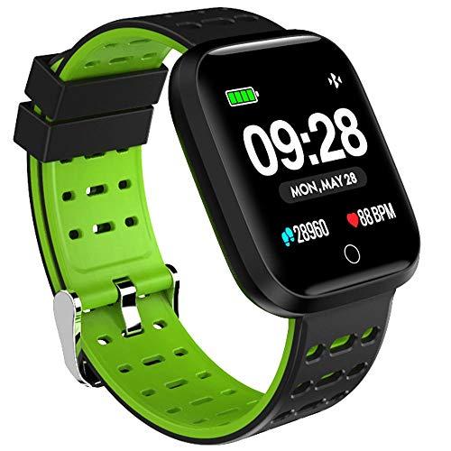 Lenovo E1 Smartwatch, Unisex, für Erwachsene, Schwarz, einzigartig