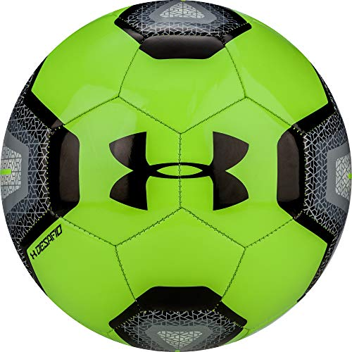 Under Armour DESAFIO 395 Soccer Ball, Size 4, Lime Light