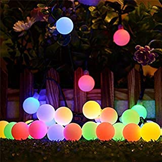 LED String - 10M 100 LED Solar Lamps LED String Fairy Lights Garland Solar Lights For Wedding Garden Party Decoration Outd...