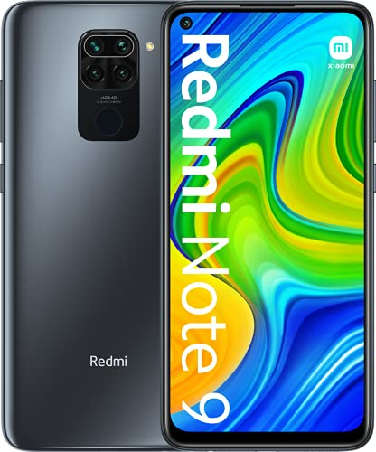 "Xiaomi Redmi Note 9 Smartphone 3GB 64GB 48MP Quad Kamera Hotshot 6.53"" FHD+ DotDisplay 5020 mAh 3.5mm Headphone Jack Schwarz, 6941059652014_SML - 3"