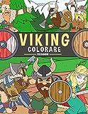 Viking Colorare per Bambini: Libro da colorare per bambini Età 4-9
